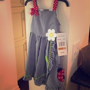 BRAND NEW LADYBUG DRESS NWT